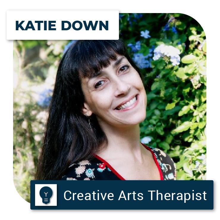 Katie Down profile picture, Creative Arts Therapist